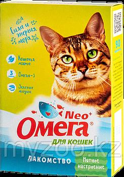 """Омега NEO лакомств д/кошек с кошачей мятой """"Мятное настроение"""""""