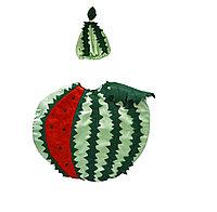 Карнавальный костюм детский овощи и фрукты (01) 24-32 р арбуз