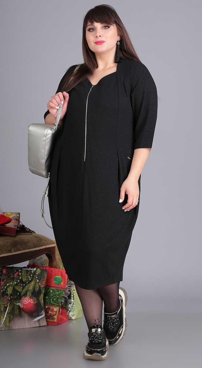 Платье Novella Sharm-3409, черный, 60