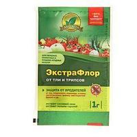 Средство для защиты от вредителей ЭкстраФлор 1 от тли и трипсов, 1 г