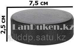 Шайба хоккейная резиновая Nordway черная (d= 7,5 см)