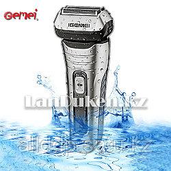 Профессиональная электробритва с двойной системой резки лезвий Gemei GM-506 (220- 240V)