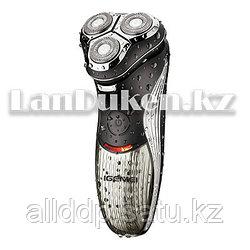 Электробритва 3 плавающих бритвенных головок Gemei GM-507(дополнительный триммер в виске)