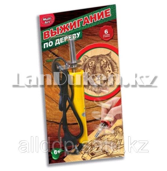 Набор для выжигания, 7 предметов (паяльник 30 ВТ 220В, 6 насадок)