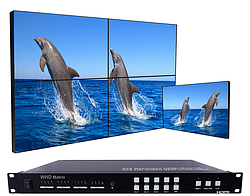 Матричный коммутатор HDMI WHD SMX-44