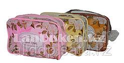 Банный- дорожный набор 5 предметов (футляр для зубной щетки, вехотка, мыльница, расческа, косметичка)