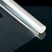 Плёнка для цветов прозрачная 0,7 х 7,5 м, 200 г, 40 мкм, рулон
