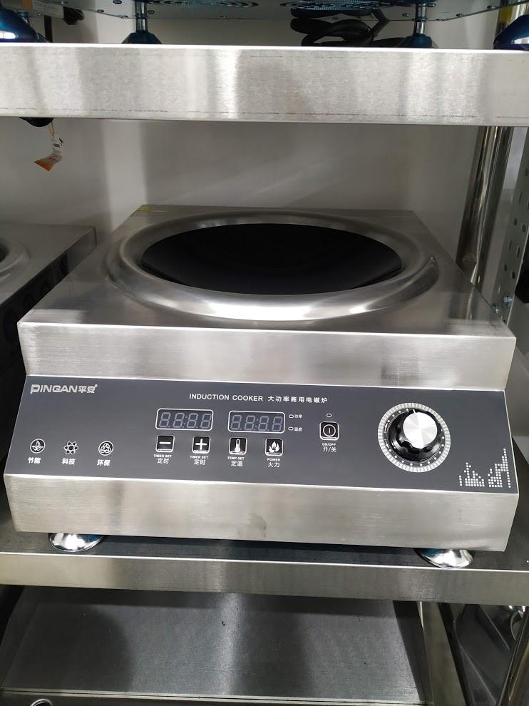 Индукционная плита 6 кВт ВОК