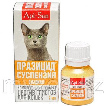 ПРАЗИЦИД сладкая суспензия, антигельминтик для кошек, фл. 7 мл.