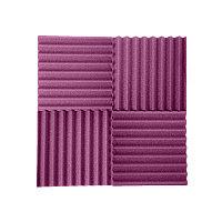 Акустический поролон Волна Пурпурный
