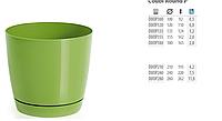 Горшок для цветов  COUBI - DUOP 100 производство Польша Prosperplast.