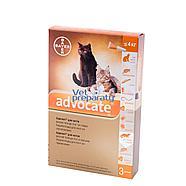 Адвокат д/кошек массой до 4 кг 0,4 мл, 1 пипетка, фото 2