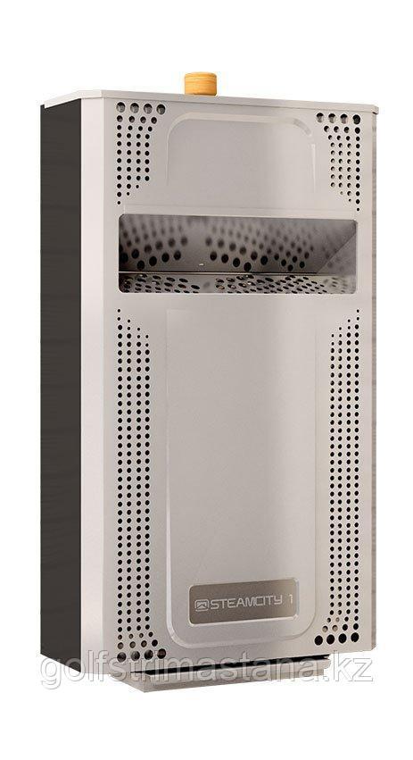 Парогенератор, (до 10 м3) для бани и сауны SteamCity1 (2,6 кВт) / электропарообразователь