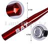 Бейсбольная бита алюминиевая красная BAT Chuangxin 64 см GF-1249А, фото 2