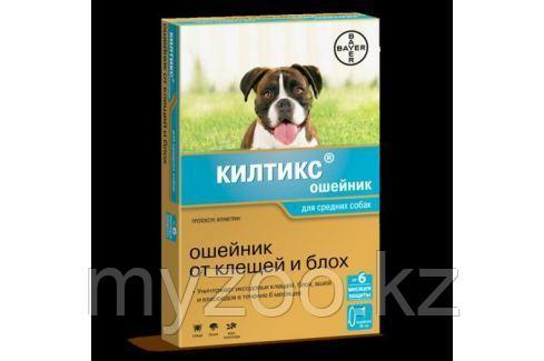 Kiltix, Килтикс, ошейник от блох для средних собак, 48 см.