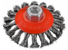 Щётка коническая D100х13 OSBORN Жгутовая стальная проволока 0,50 T22