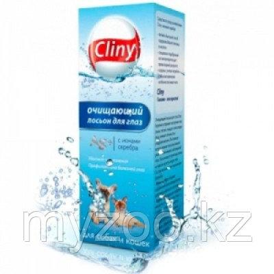 Cliny, Клини Лосьон для глаз очищающий для собак и кошек, фл. 50мл