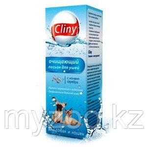Cliny, Клини Лосьон для ушей очищающий для собак и кошек, фл. 50мл
