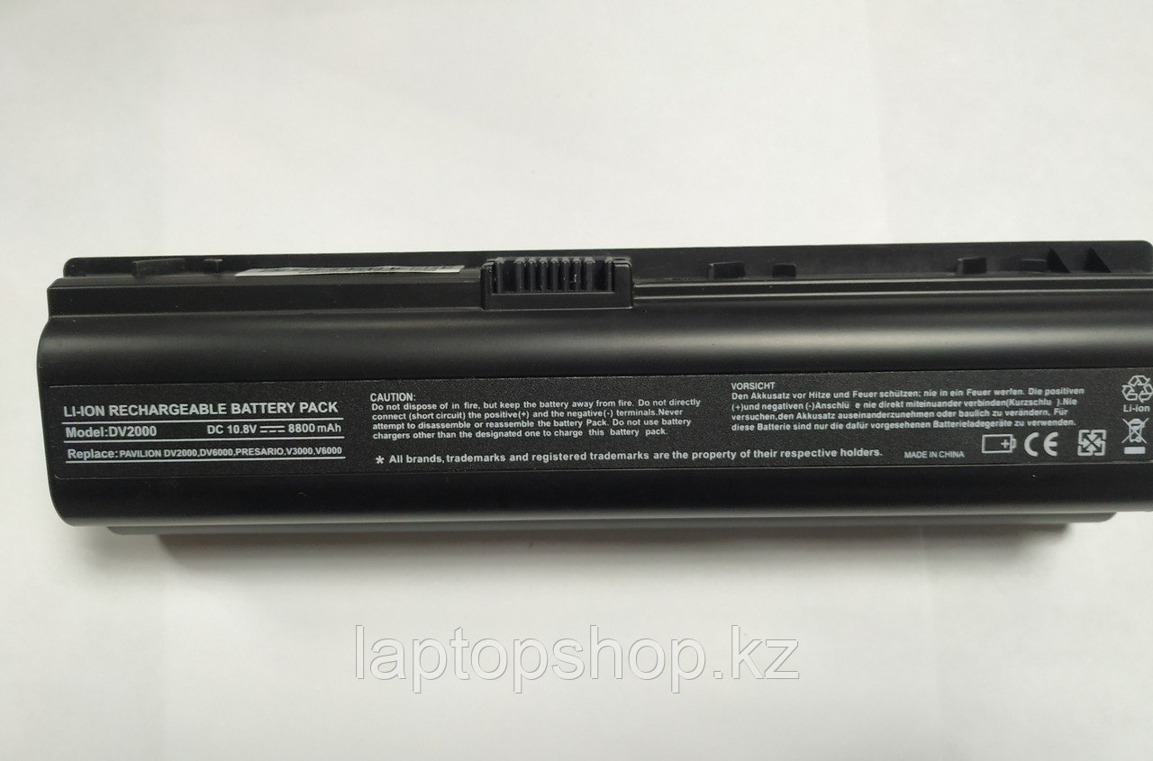 Батарея для ноутбука Совместимая for HP Compaq Presario M 3000