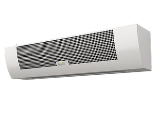 Электрические тепловые завесы высота установки до 3,5 м