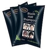 Красящий шампунь для седых волос Dexe Black Hair Shampoo, фото 5