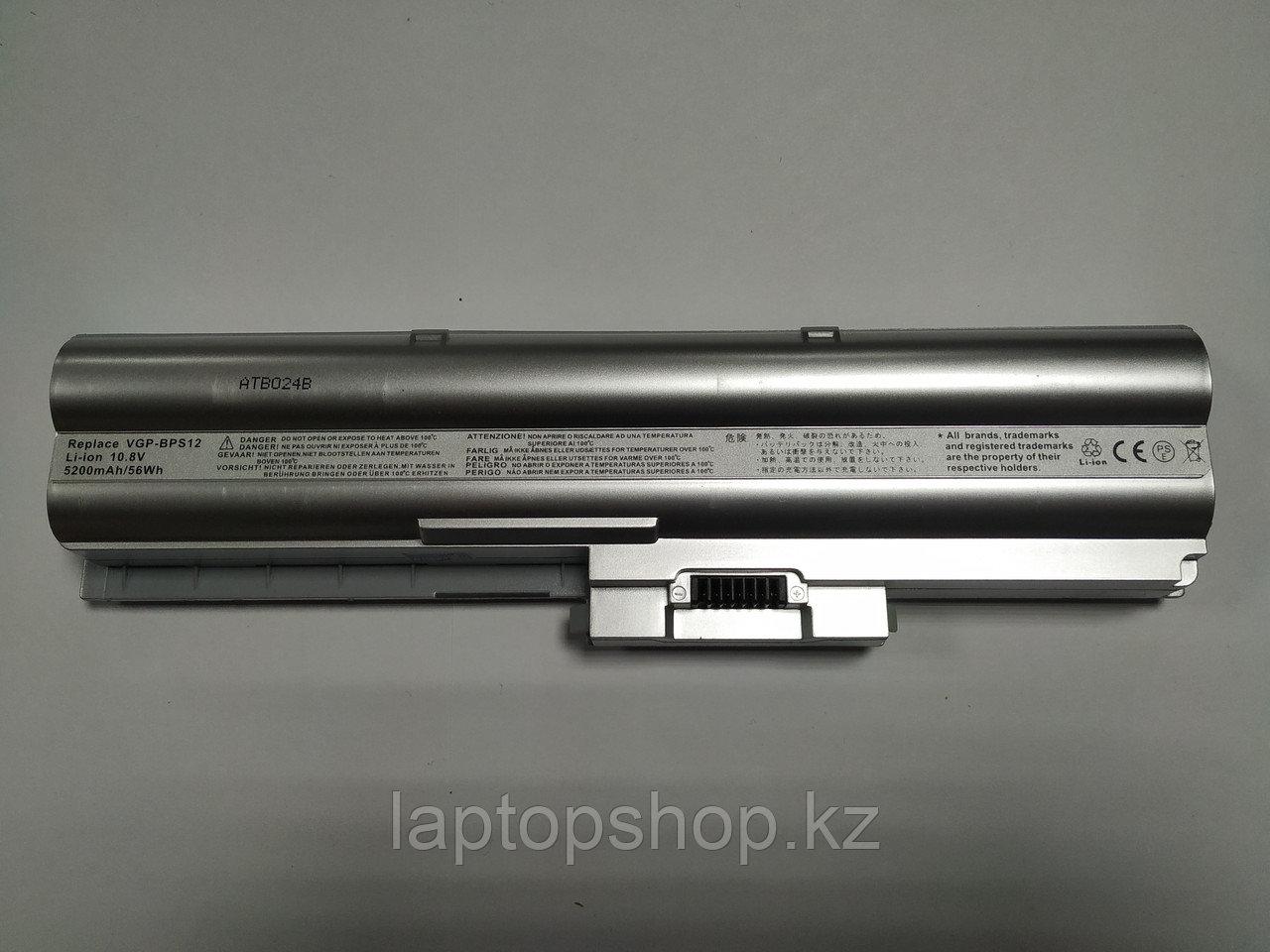 Батарея для ноутбука Совместимая for Sony Vaio VGP-BPS12