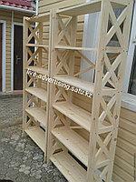 Рекламное оборудование стеллажи витрина стенды для магазина деревянные стеллажи