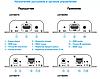 Удлинители HDMI LKV383 TX+RX, фото 2