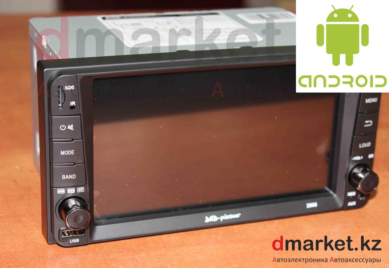 Автомагнитола Android DHD-2906, Toyota универсальная, 7 дюймов, Wi-Fi, GPS, ОЗУ 1Гб, память 16 Гб