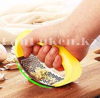 Кухонный измельчитель чеснока, ручной нож для измельчения, терка с ручкой из нержавеющей стали (ассортимент)