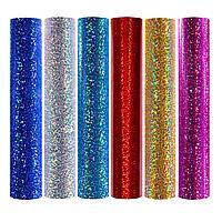 Флекс Glitter 0,52*25м Красный