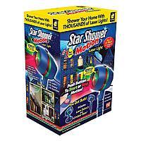 Лазерный проектор на дом Star Shower Motion Laser Light Звездный Душ, дождь, праздник, подсветка новый год, фото 1