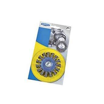 Щётка дисковая с хвостовиком 6 мм D75х12 OSBORN Жгутовая стальная проволока 0,5mm T18