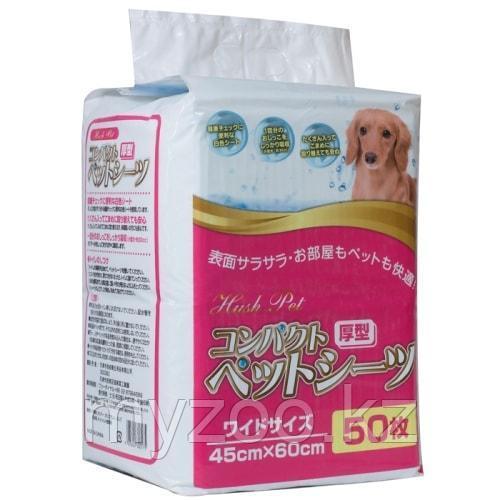 Пеленки для собак одноразовые 45х60см уп. 50шт. (пр-во Япония)