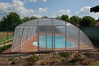 Павильон для бассейна из поликарбоната ELEONORA 4, Монолитный поликарбонат