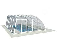 Павильон для бассейна из поликарбоната ELEONORA 5, Монолитный поликарбонат
