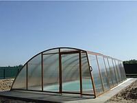 Павильон для бассейна из поликарбоната ELEONORA 3, Сотовый поликарбонат