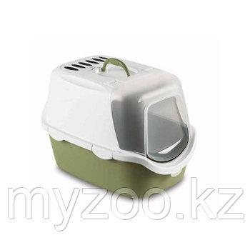 Stefanplast Cathy Easy Clean, Био-туалет для кошек с угольным фильтром, 56*40*40, цвет по наличию