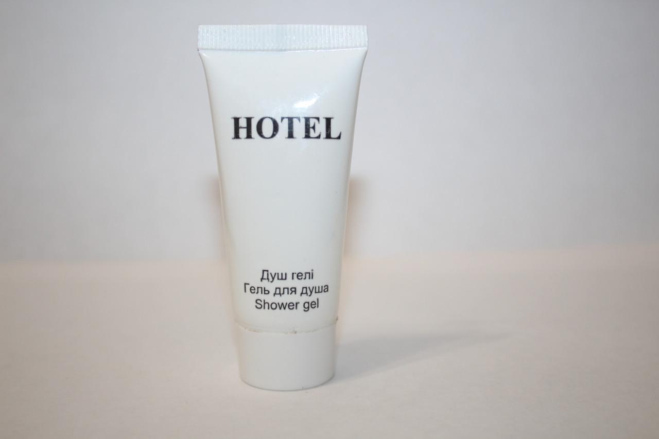 Гель для душа Hotel, тюбик серия AIR 20 мл