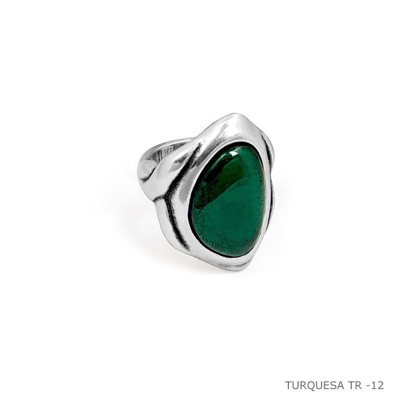 Кольцо / Botanic ( 192507- зелёный )размер 17