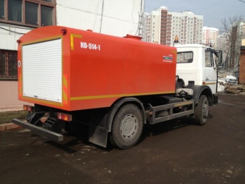 Машина каналопромывочная КО-514-1