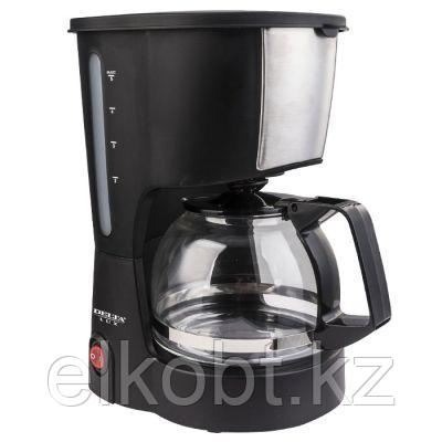 Кофеварка 600 Вт, 600 мл (6 чашек) DELTA LUX DL-8161 черная