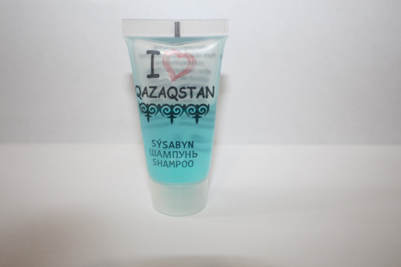 Шампунь в тюбике I love Qazaqstan 15мл