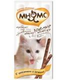 Мнямс лакомство для кошек с цыпленком|печенью, уп. 13,5 см 3*5 гр.