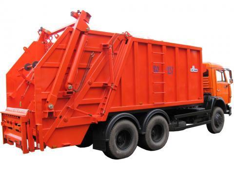 Мусоровоз КО-440В1-01 механизированная задняя загрузка КамАЗ-65115-3081-23