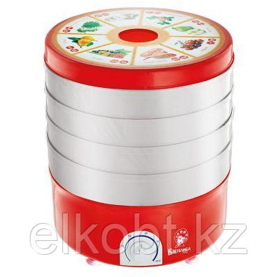 Сушилка для овощей и фруктов электрическая 520 Вт ВАСИЛИСА СО3-520 красная с белыми секциями
