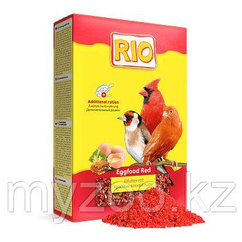 Корм РИО красный яичный корм (для усиления красного окраса), 350 гр