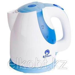 Чайник электрический 2200 Вт, 1,7 л ВАСИЛИСА Т24-2200 белый с сиреневым