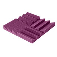 Акустический поролон Зубцы & Пила Пурпурный
