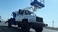 Автогидроподъемник колено-телескопический 22 метра